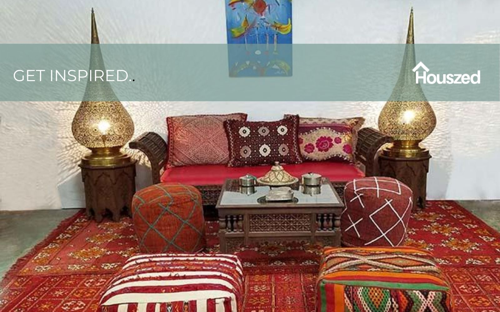 17 Moroccan Living Room Ideas To Get The Look In 2020 Houszed